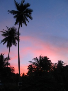 Sunset Near my Bungalow