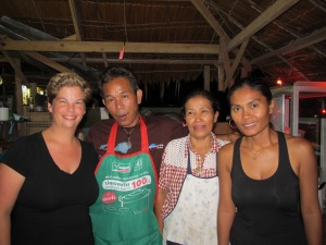 The owners and cooks of my favorite dinner spot