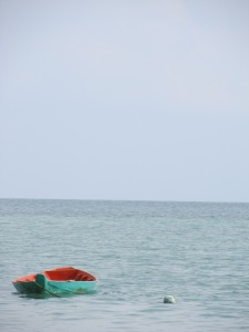 Boat near Thong Sala Beach