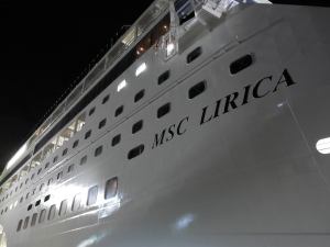MSC - Lirica in Dry Dock (2)