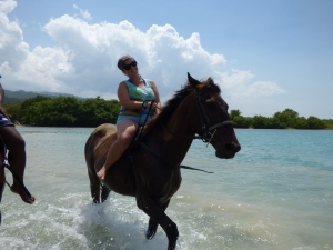 horse ride and swim Jamaica (2)