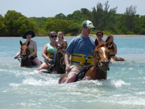 horse ride and swim Jamaica (3)