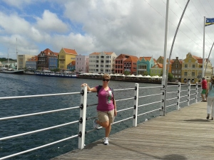 On the bridge to Willemstad