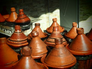 Tajines cooking