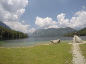 Lake Bohinj.