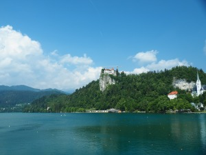 Castle at Lake Bled