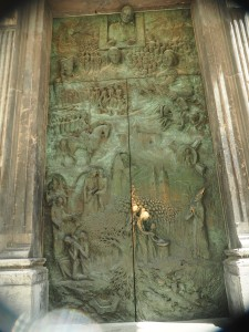 stunning church door