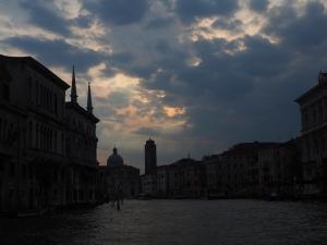 Sun Setting over Venice