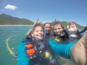 .Lulu and Thomas (Divemaster Trainees)