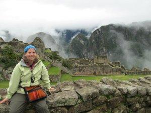 At Machu Pichu, Peru
