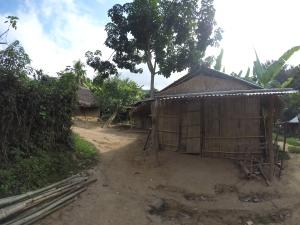 Hmong Houses.