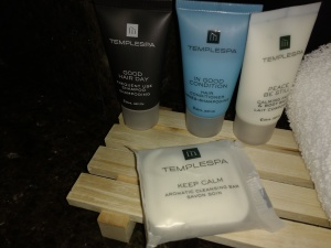 calming soap and shampoo - just what I need