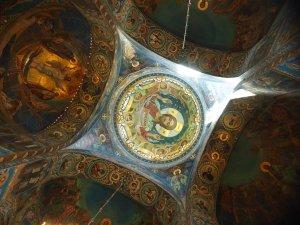 inside the main spire