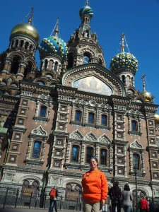 Church of Spilled Blood, St. Petersburg Russua