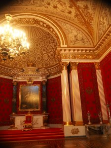 One of the throne rooms
