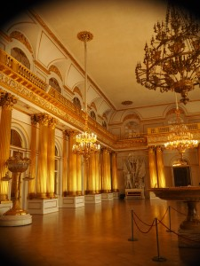 One of the many Grand Halls